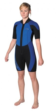 Trinity Shorty Warm Water Suit - 9782_1247671720trinityfront_1288203011