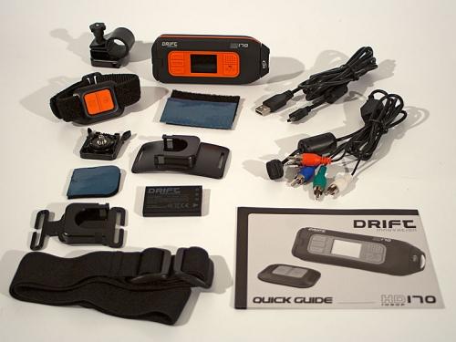 HD170 Action Camera - _hd170boxkit_1316173950
