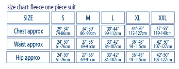 Transpire Fleece One Piece Suit - 8147_163621_1279626815