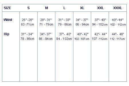 Aquatherm Fleece Pre-bent 3/4 Trousers - 8077_Sizepant_1279288102