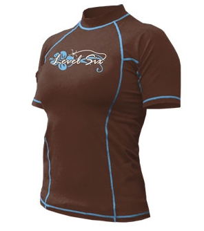 Venus Short Sleeve Womens - 4732_venusssbrown_1291997845