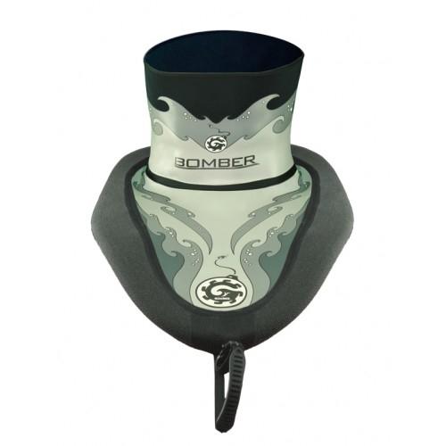 Bombshelter Grey Waves Sprayskirt - 7612_5500bombco1600_1277399123