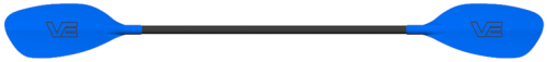 Pro Glass Blades on a Straight Black Glass Shaft - _proglassblue-1416982821