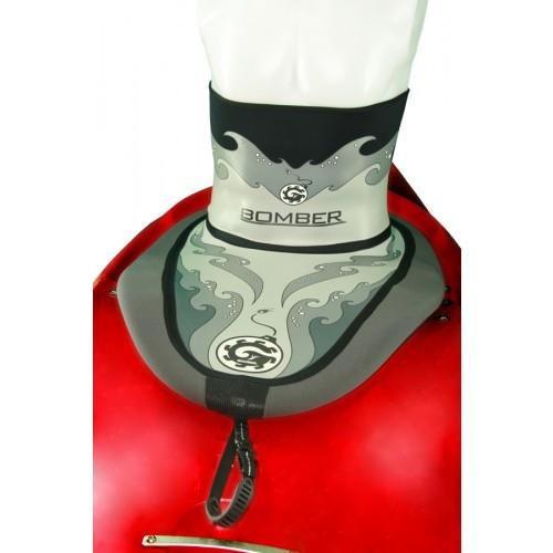 Bombshelter Grey Waves Sprayskirt - 7612_5510bombshelterco101_1277399123
