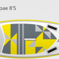 "iSUP River Pro Opae 8'5"""