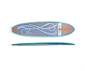 """Bamboo Yoga Board 11'0"""""""