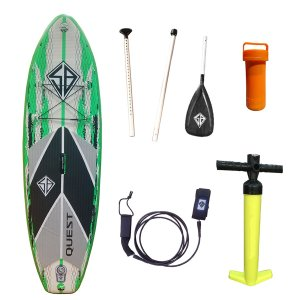 SB Quest Inflatable SUP 8'0""