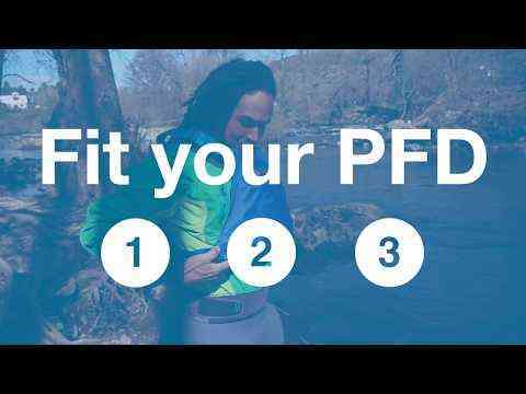 1 - 2 - 3 fit your PFD. How to put on a buoyancy aid