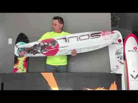 Snow Wave surf style snowboard