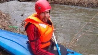 Mohelka na kanoi a kajaku