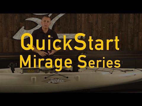 Hobie QuickStart for your Mirage series kayak.