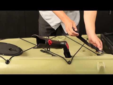 Hobie Adjustable Rod Extender for Kayak Fishing