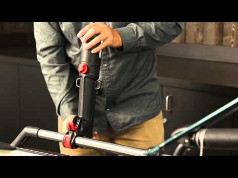 Hobie H-Rail Rod Holder accessory for Kayak Fishing