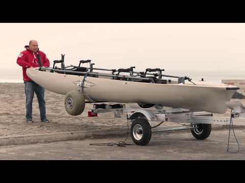 Hobie Mirage Pro Angler 17T Trailer/Dolly