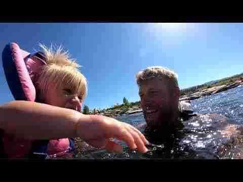 Teaching Kids to Kayak 4/5: Swimming in Whitewater