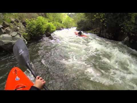 Kayaking the Cascades of the Nantahala River