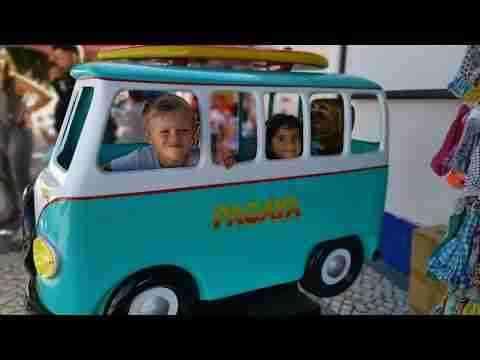 Waveski & Family | First waves @ Portugal