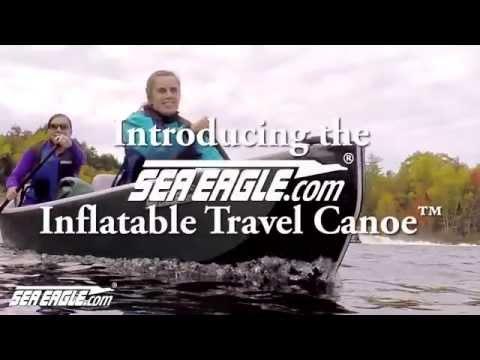 Sea Eagle 16ft Inflatable Travel Canoe™