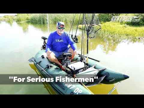 James Harshbarger Talks About His Sea Eagle 285fpb Fishing Boat