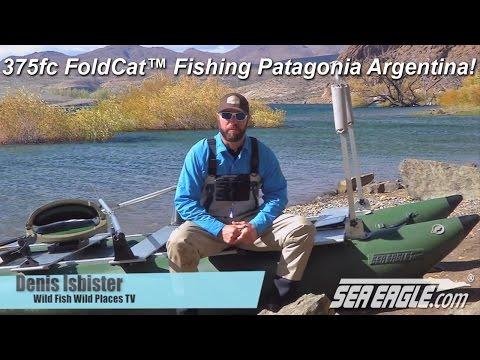 Sea Eagle 375fc FoldCat™ Fishing Boat Visits Patagonia Argentina!