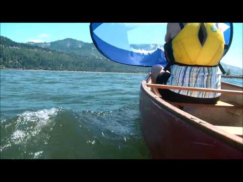 Sailing your Canoe Tandem/Solo with a WindPaddle