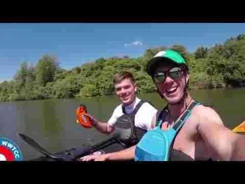 Whitewater insight - Kayak Tow Line