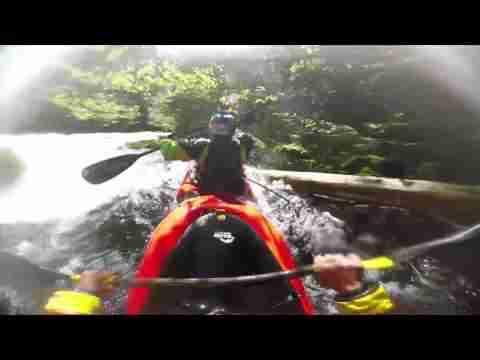 GoPro- Two man kayak down Class 5 whitewater