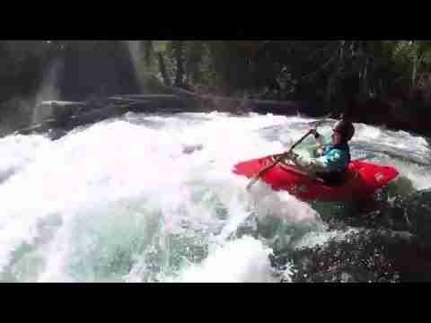 Kayaking Koosah Falls