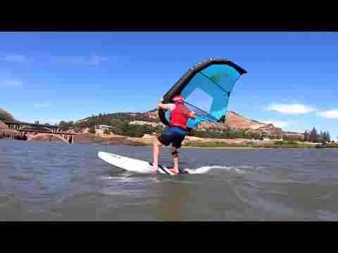 Foil Wing Instructional P3 with Dan Gavere-What size board to use.