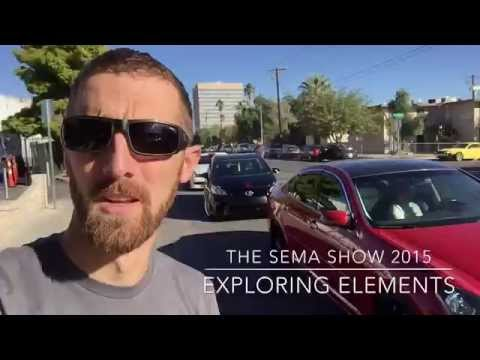 SEMA 2015: The Exploring Elements Experience