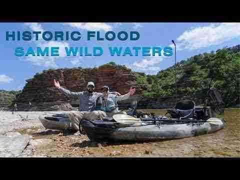 Kayak Fishing: Historic Flood, Same Wild Waters S5 E3