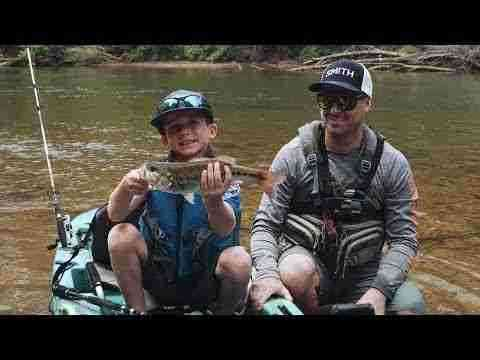 River Bassin' Youth on the Hooch - Hooked On Wild Waters S4, EPISODE 5 - presented by Georgia Power