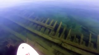 SUP Snorkeling a Legendary Shipwreck in Duncan Bay, Lake Huron